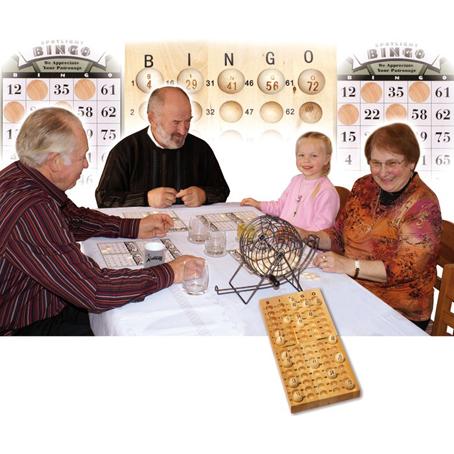 Bingo 1831 med blandetrommel