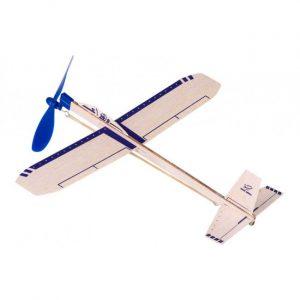 Balsa strikkmotorfly Eagle Jet