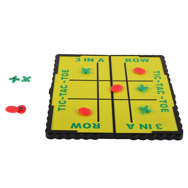 Tic - Tac - Toe magnetisk reisespill. Tre 3 på rad spill til reise.