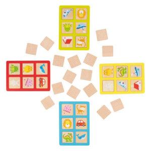 Memory og Lotto fra Goki