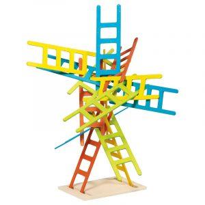 Balanse spill med stiger fra Goki. Stablespill, balansespill.