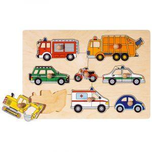 Knotte Puslespill transport fra Goki