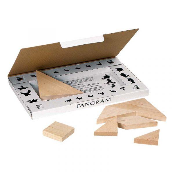 Tangram, spill, puslespill fra Goki.