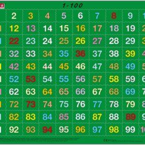 Puslespill Larsen puslespillfabrikk. Et spill om Lær å telle 1 - 100.