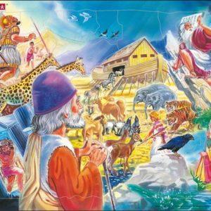 Puslespill Larsen puslespillfabrikk Motiver fra Gamle testamentet