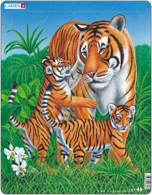 Puslespill Tiger