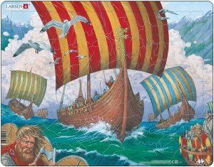 Puslespill Vikingskip Ormen Lange