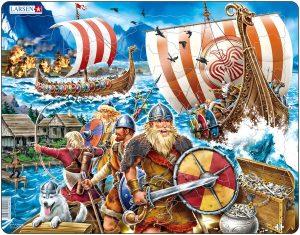Puslespill Vikingtokt