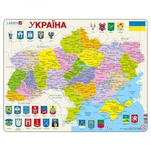Puslespill Ukraina, politisk