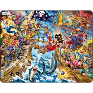 Puslespill Pirater i sjøslag