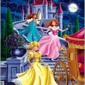 Puslespill Larsen puslespillfabrikk Spill med prinsesser fra Larsen puslespillfabrikk