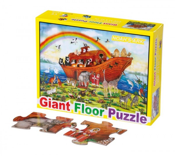 Gigant gulv puslespill, Noahs ark
