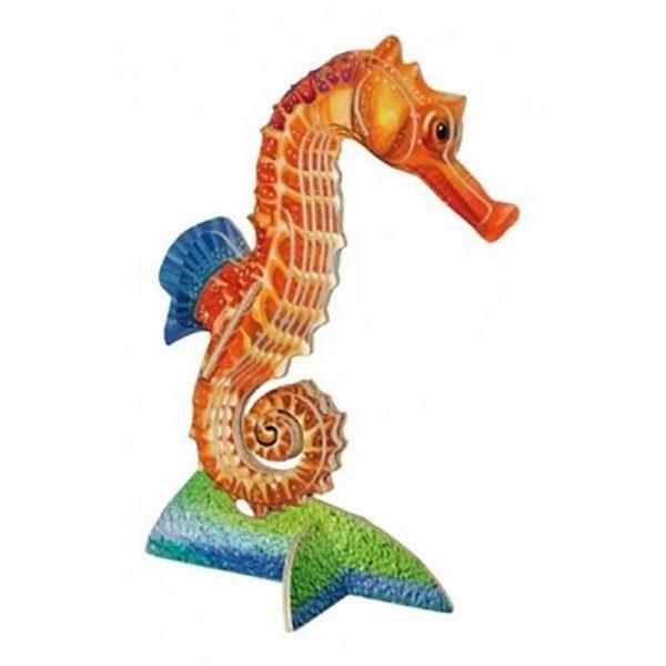 3D puslespill, Sjøhest. Et puzzle i tre finer av Sjø hest.