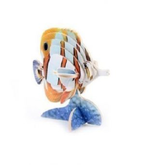 3D Puslespill Sommerfugl fisk