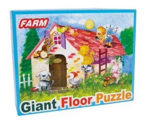 Gigant gulv puslespill Farmliv