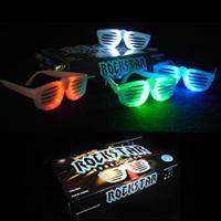 Rockstar blinkende briller