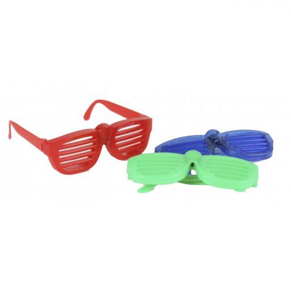 Rockstar blinkebriller. Blinkende briller.