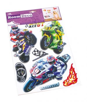 Decosticker motorsykkel
