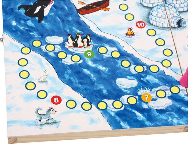 Eskimo spill. Tre, terning.