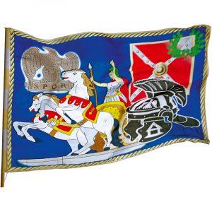 Romersk flagg. Leker fra Hobbyfabrikken.no Romerflagg
