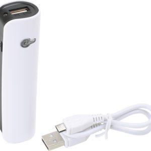 USB Powerbank. Power bank som ekstra batteri til mobiltelefon, tablet o.l.