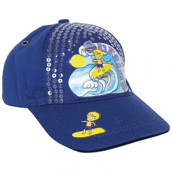 Cap. Caps for barn med surfing motiv. Barnecaps. Baseballcap.