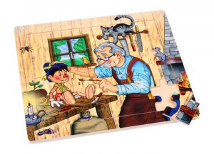 Puslespill, Pinocchio´s atelier