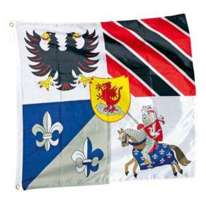 Ridderflagg. Ridder flagg fra hobby fabrikken