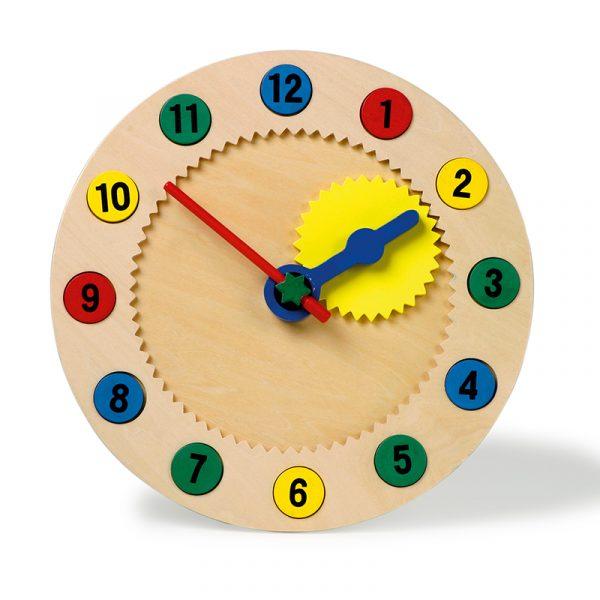 Klokke lær tiden. Lære klokka