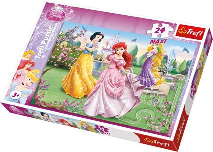 Puslespill prinsesser MAXI