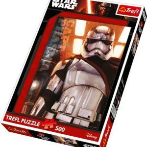 Puslespill Star Wars Kaptein Phasma. 500 biter pusle fra Starwars filmene av Disney.