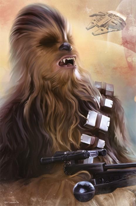 Puslespill Star Wars Chewbacca. 362 biter Nano pusle fra Starwars filmene av Disney.