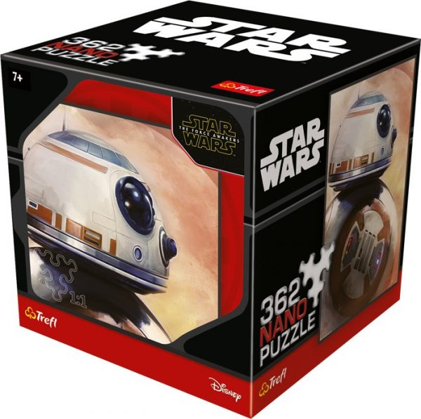 Puslespill Star Wars BB-8. 362 biter Nano pusle fra Starwars filmene av Disney.