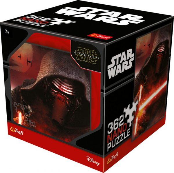 Puslespill Star Wars Kylo Ren. 362 biter Nano pusle fra Starwars filmene av Disney.
