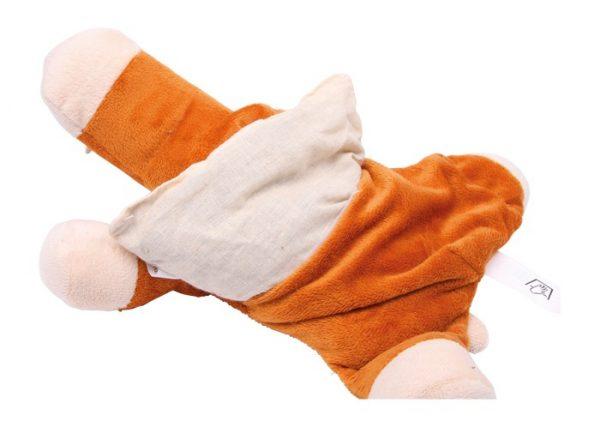 Varmepute Hest. Pute med pose inni med korn som varmes opp i mikrobølgeovn. La hesten gi fra seg varme.