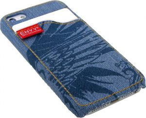 iPhone 5 deksel, jeans blå