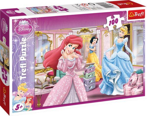 Puslespill Prinsesser, 100 biter