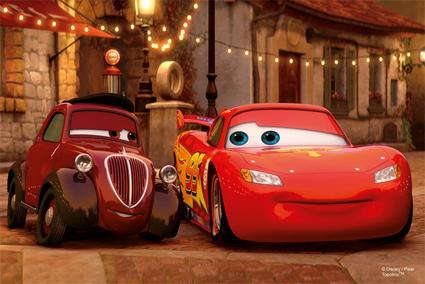 Mini puslespill Biler, Cars