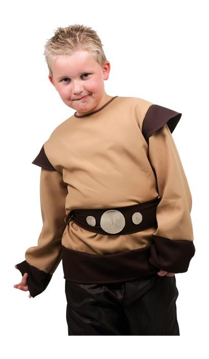 Viking kostyme for barn. Karneval utkledning.