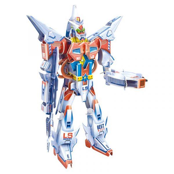 3D puslespill Robot Galaktiske roboten Hero
