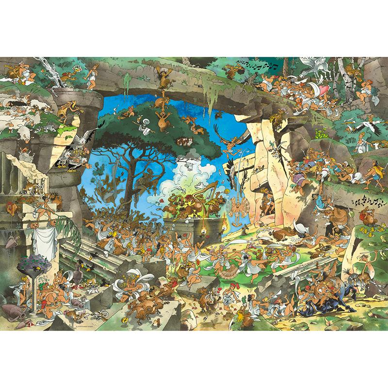 Uvanlig Puslespill Satyrs Callig 1000 brikker. | Hobbyfabrikken GV-55