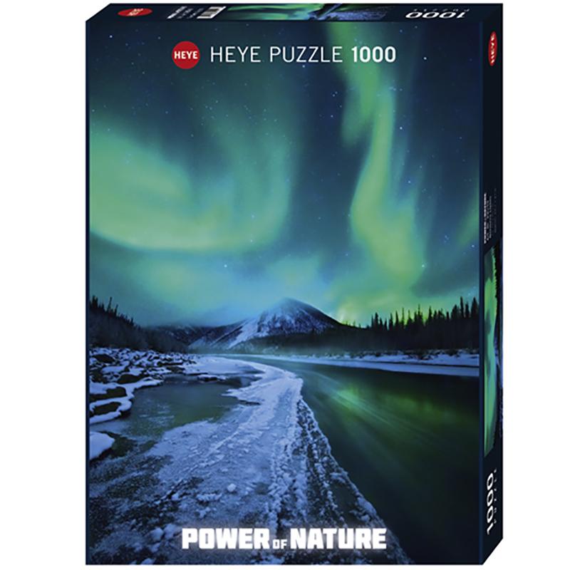Ungdommelig Puslespill Northern Lights, 1000 brikker | Hobbyfabrikken MT-76