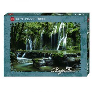 Puslespill Cascade, Magisk skog, 1000 brikker