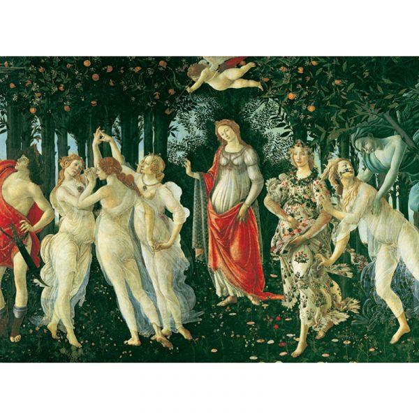 Puslespill Spring, 2000 brikker / biter. Puslespill i Museum kolleksjonen til Clementoni. Motiv Våren.