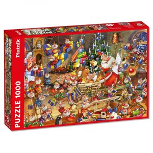 Puslespill Christmas Chaos, 1000 brikker