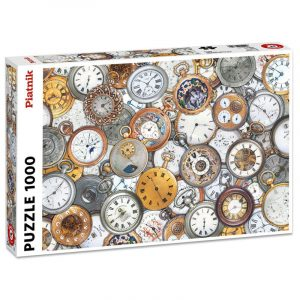 Puslespill Time Pieces, 1000 brikker