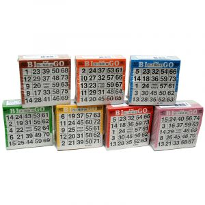 Bingo kuponger 500 stk. ass.