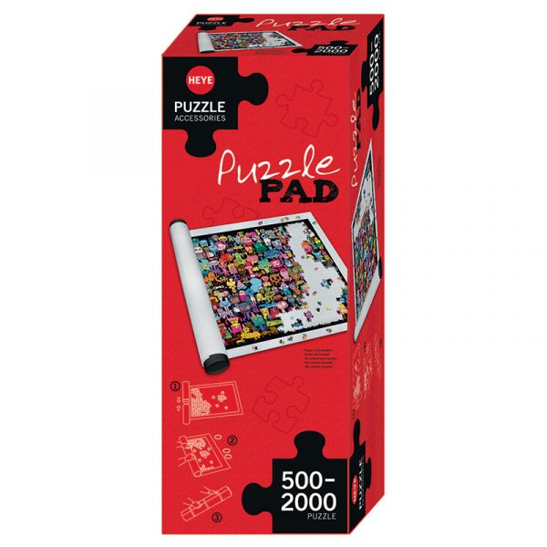 Puslespill matte fra Heye puzzle. 500 - 2000 brikker pusle. Puzzle Pad. Ca 75 x 145 cm.