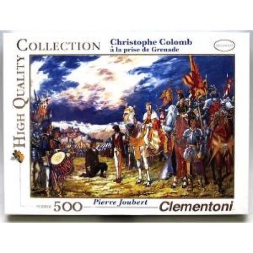 Puslespill med Christopher Colombus, 500 brikker / biter. Et motiv av Pierre Joubert.
