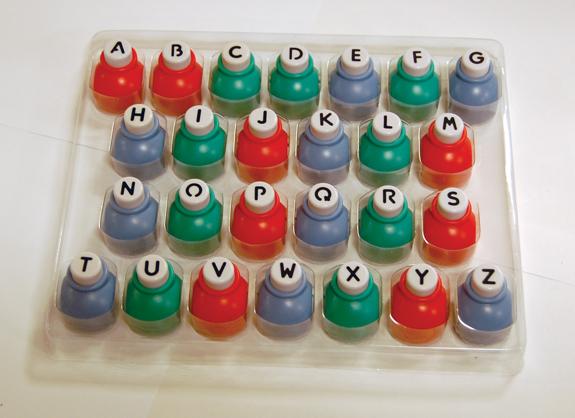 Stanse sett 26 bokstaver